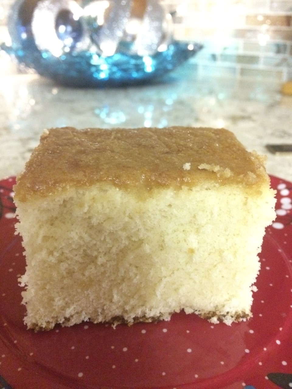 Lazy Daisy Cake without the Frosting