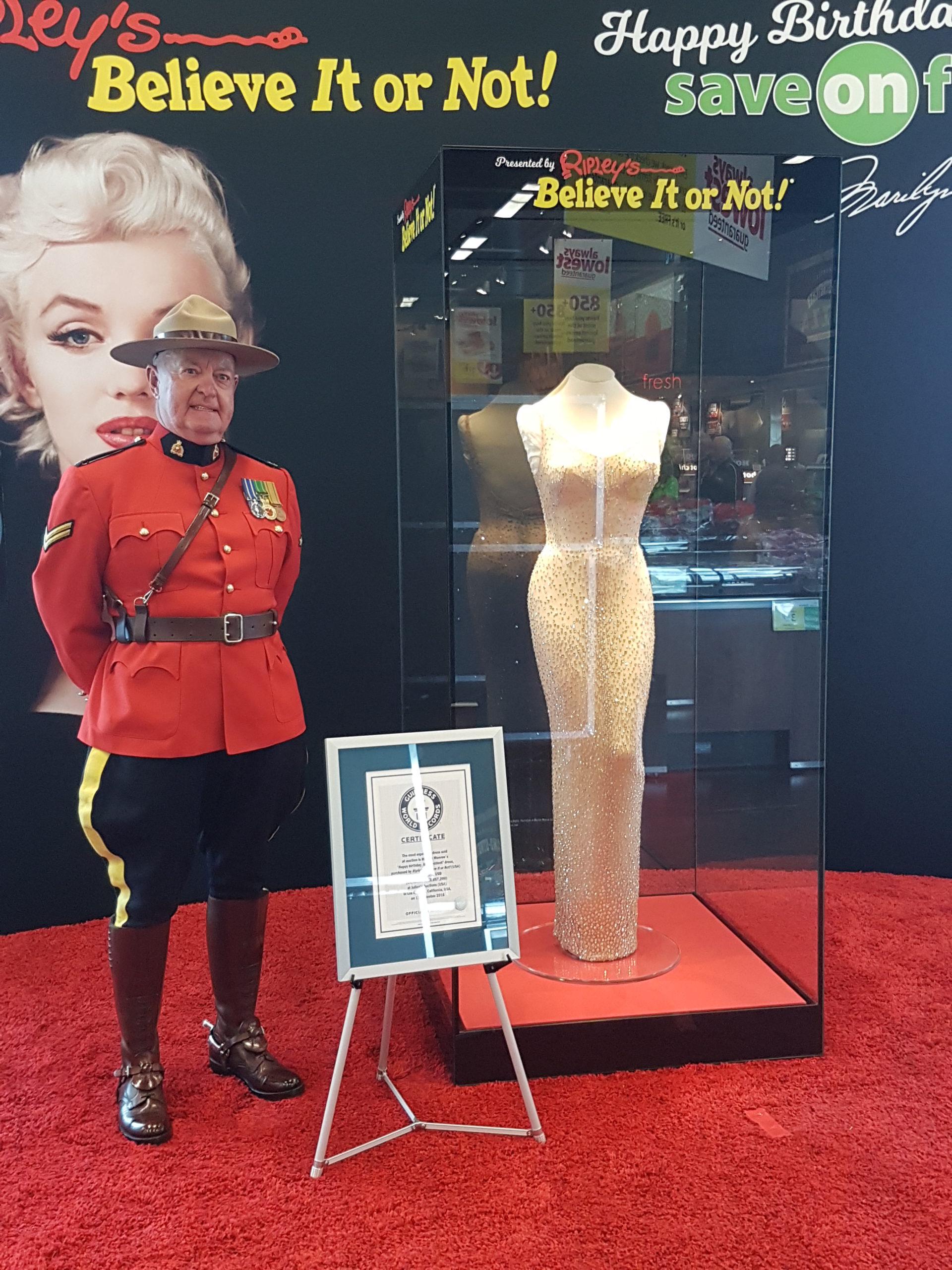 """Happy Birthday Mr. President"" Dress On Display in Yorkton"