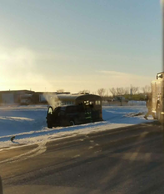 RCMP Update Yesterday's School Bus-Truck Accident