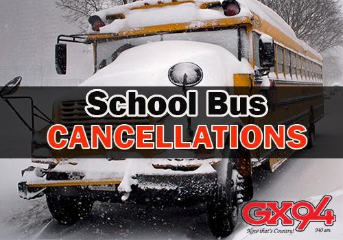 Cancellations Thur. Feb. 15/18