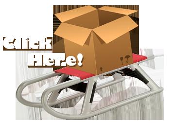 cardboard-sled