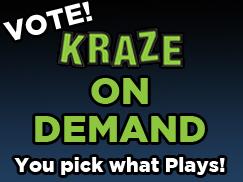 KRAZE Kraze on Demand 243x182