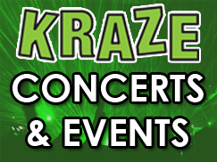 KRAZE concerts and events 243x182