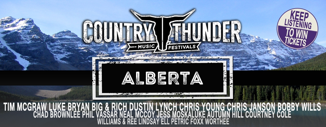 Win Tickets to Country Thunder 2016