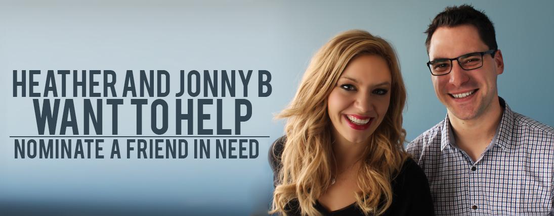 Heather and Jonny B Want to Help