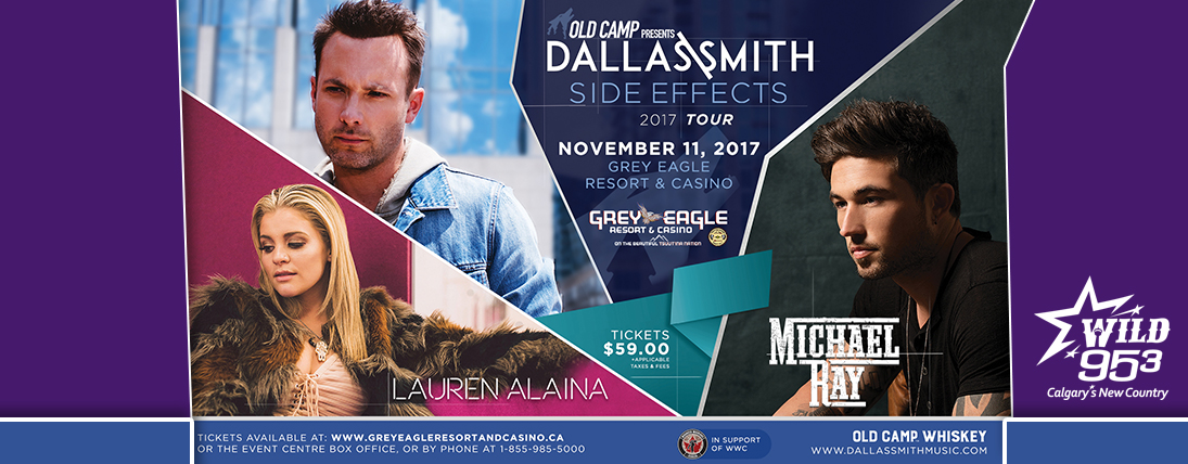 Win Tickets to See Dallas Smith!