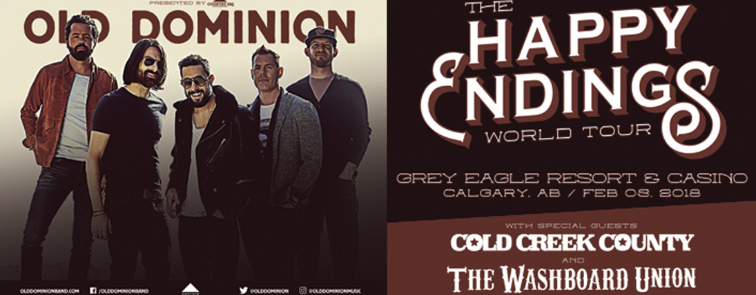 Win Tickets to Old Dominion at Grey Eagle