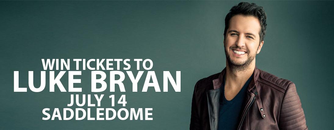 Win Tickets to Luke Bryan