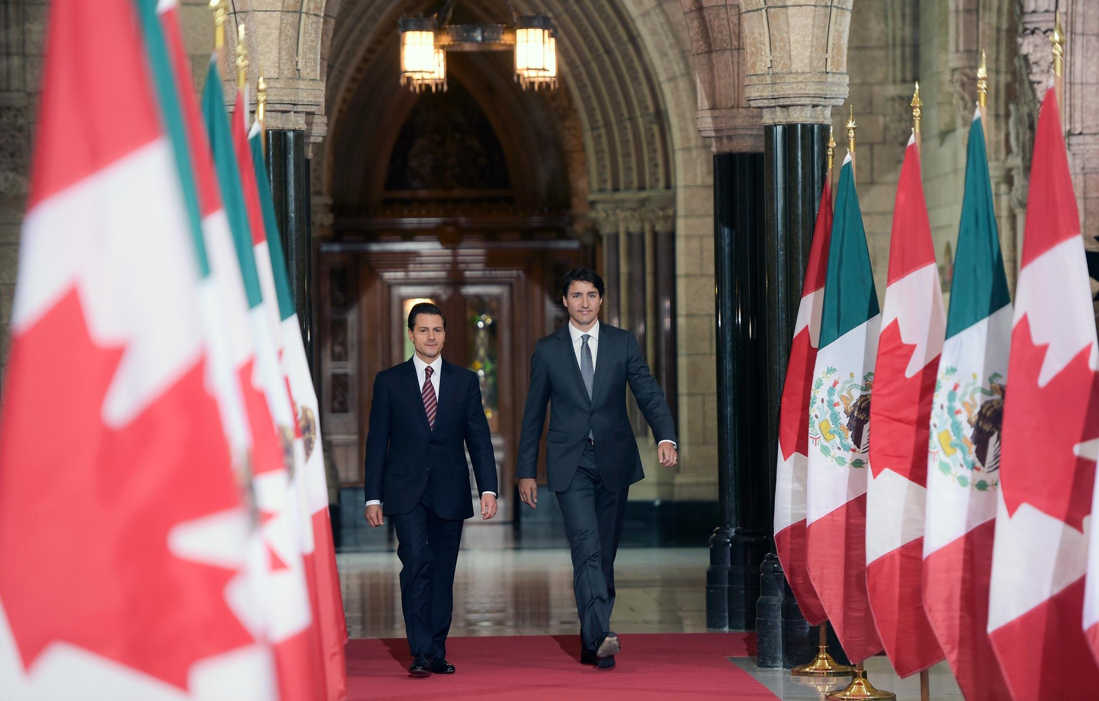 ¿Qué debe hacer Canadá con México?
