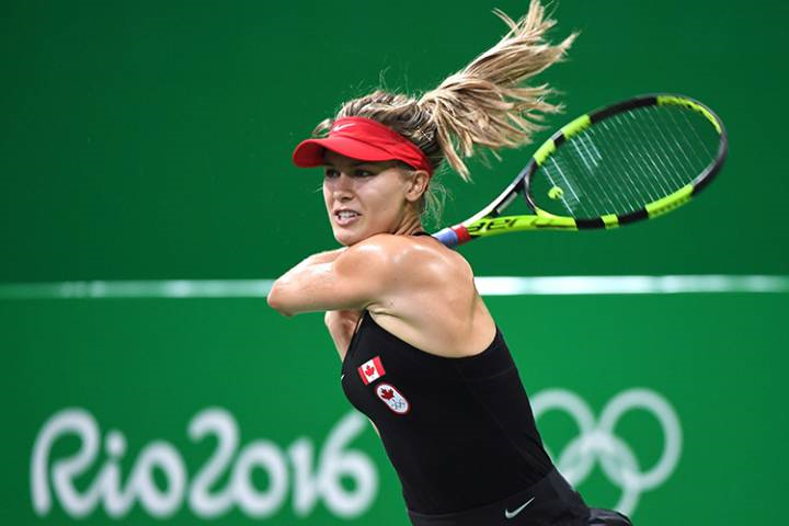 RIO 2016 OLYMPICS TENNIS: Canadian Eugenie Bouchard eliminated in women's singles at Rio 2016