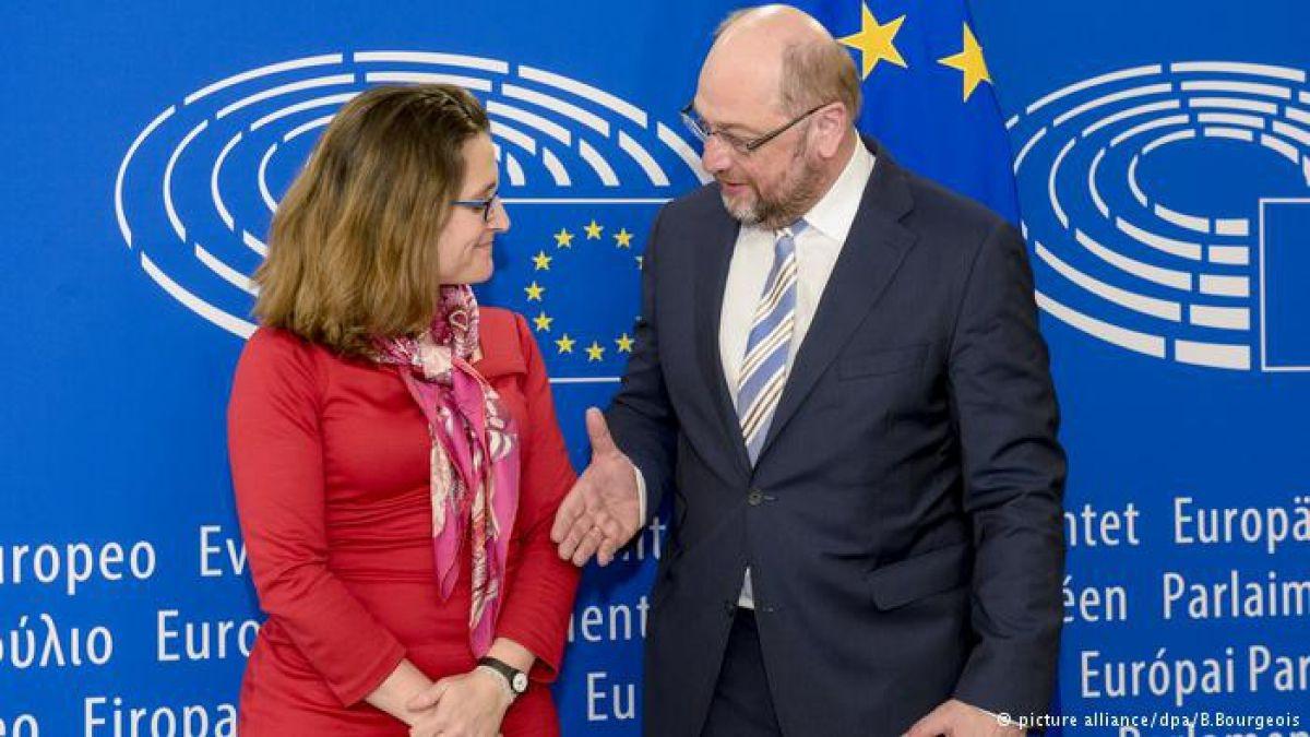 Vía libre para el acuerdo entre Canadá y la Unión Europea
