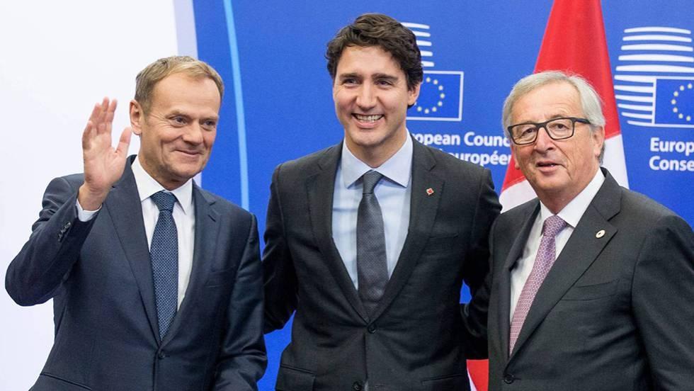 El acuerdo entra Canadá y la UE todavía es papel mojado