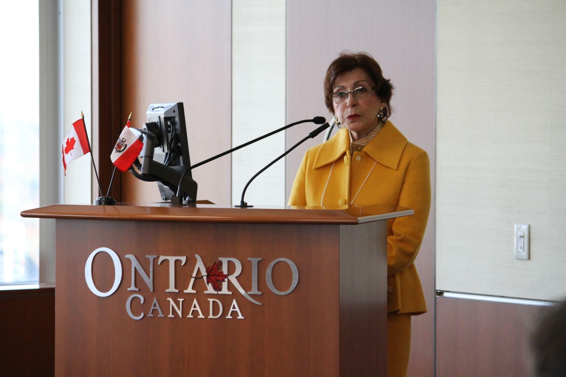 Peruvian Embassy held Investment, Trade Roadshow in Canada