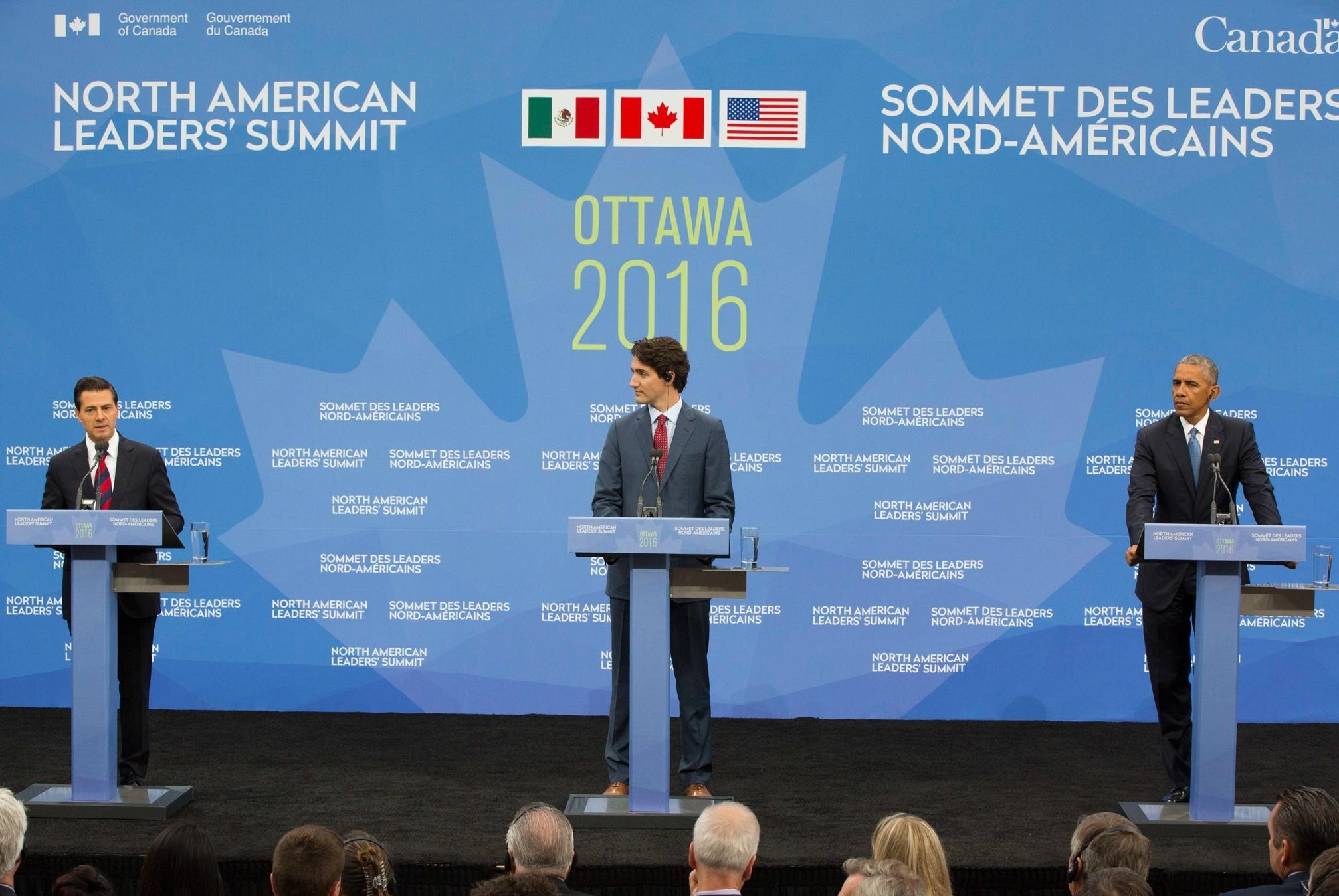 Canadá no descarta una revisión del TLCAN con México y EEUU