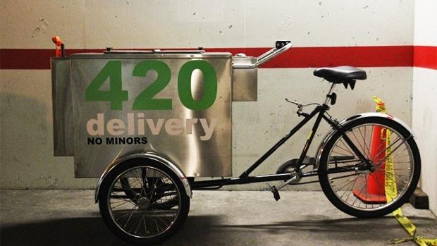 Marijuana vending cart operator arrested in Victoria