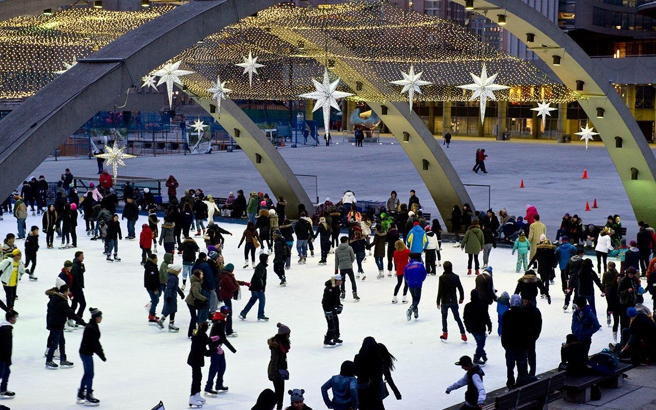 """Canadá tiene 4 de las 10 mejores pistas de hielo """"outdoor"""" del mundo"""