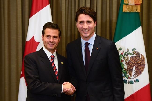 Trudeau y Peña Nieto hablan por teléfono de empleo y comercio