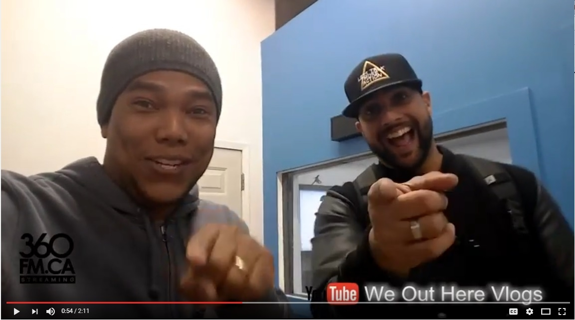"Miguel Anthony launch ""We Out Here Vlogs"" channel"