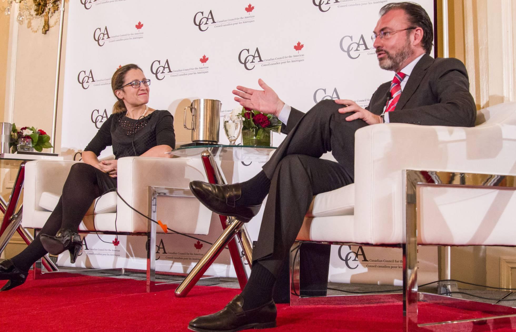 Canadá asegura que no renegociará el TLCAN sin México