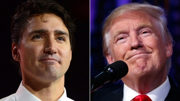 El lunes se verán Trudeau y Trump cara a cara