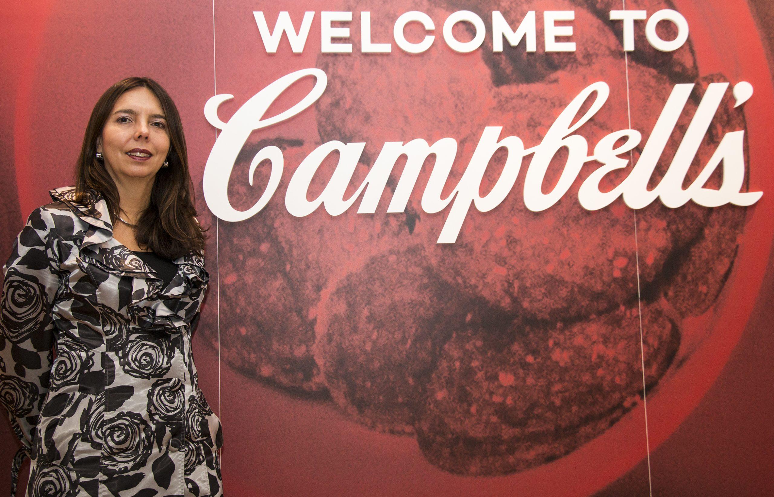 Ana Dominguez, la colombiana que dirige el imperio de las sopas Campbell´s en Canadá