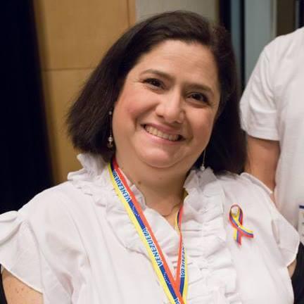 Rebeca Sarfatti, agente de cambio para Venezuela