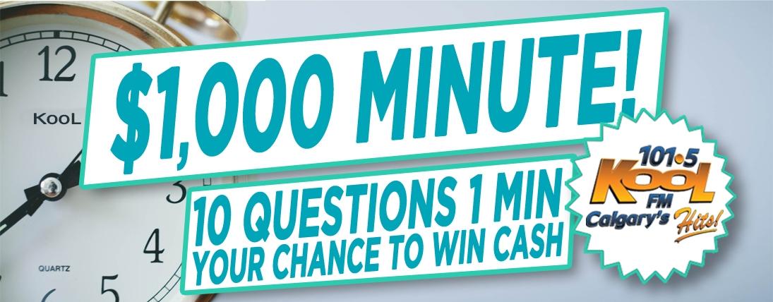 Thousand Dollar Minute!