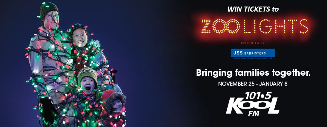 Win Tickets to Zoolights