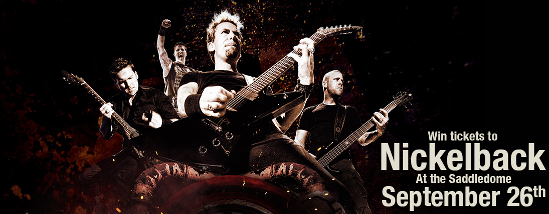 Win Tickets to Nickelback