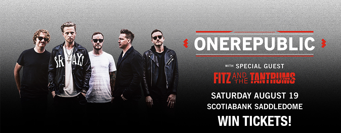 Win Tickets to OneRepublic