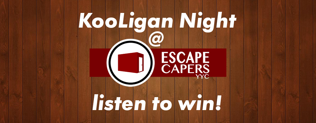 KooLigan Night at ESCAPE CAPERS