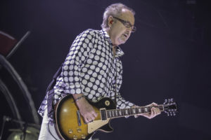 Foreigner's Mick Jones plays during show at Ascend Amphitheater. (Kevin Klimek, 93.3 Classic Hits)