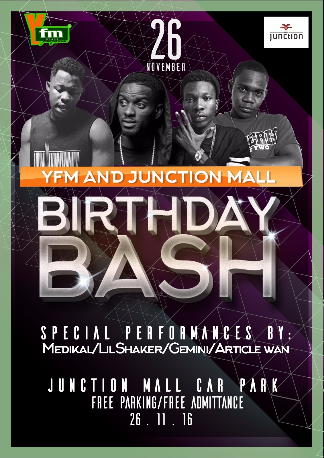 YFM and Junction Mall Celebrates Birthday With A Concert