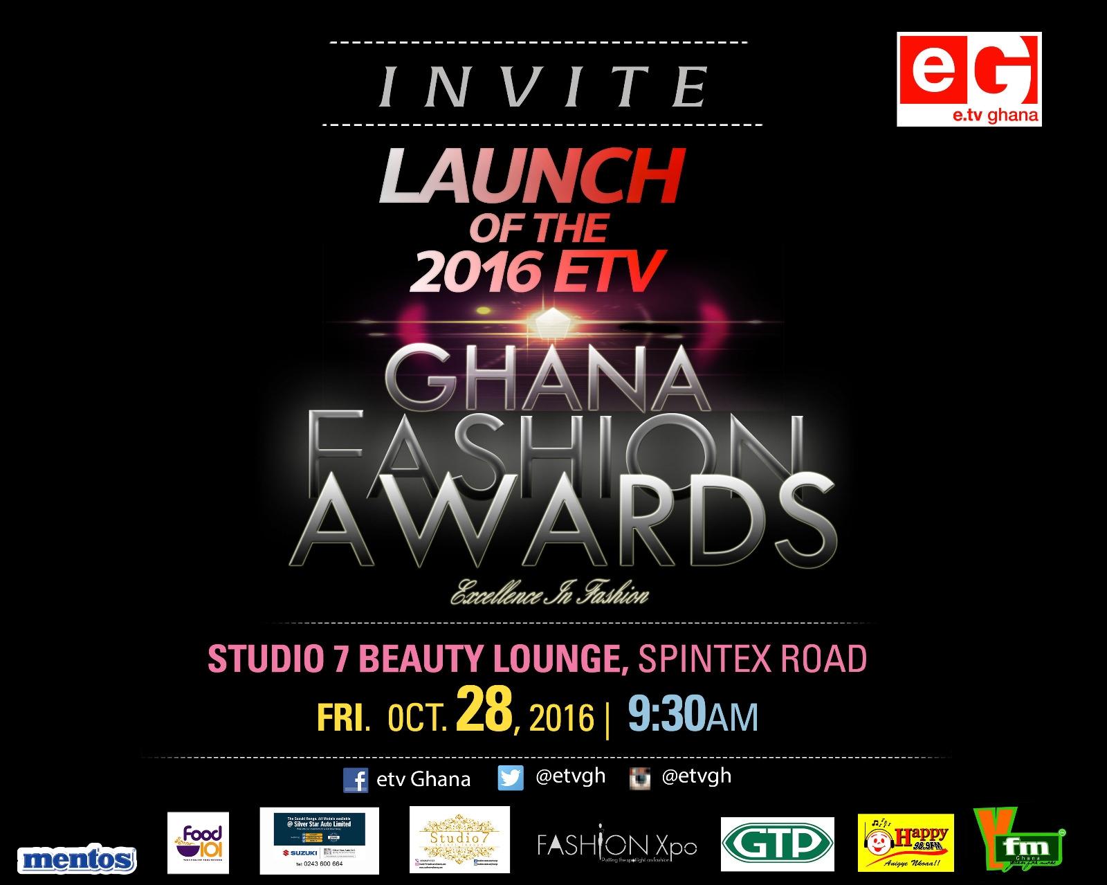 eTV Ghana To Launch 2016 Ghana Fashion Awards