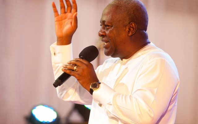 Mahama laughs-off criticisms of falling standards in education