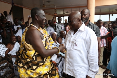 Akwamu Traditional Council condemns comment against Akufo-Addo
