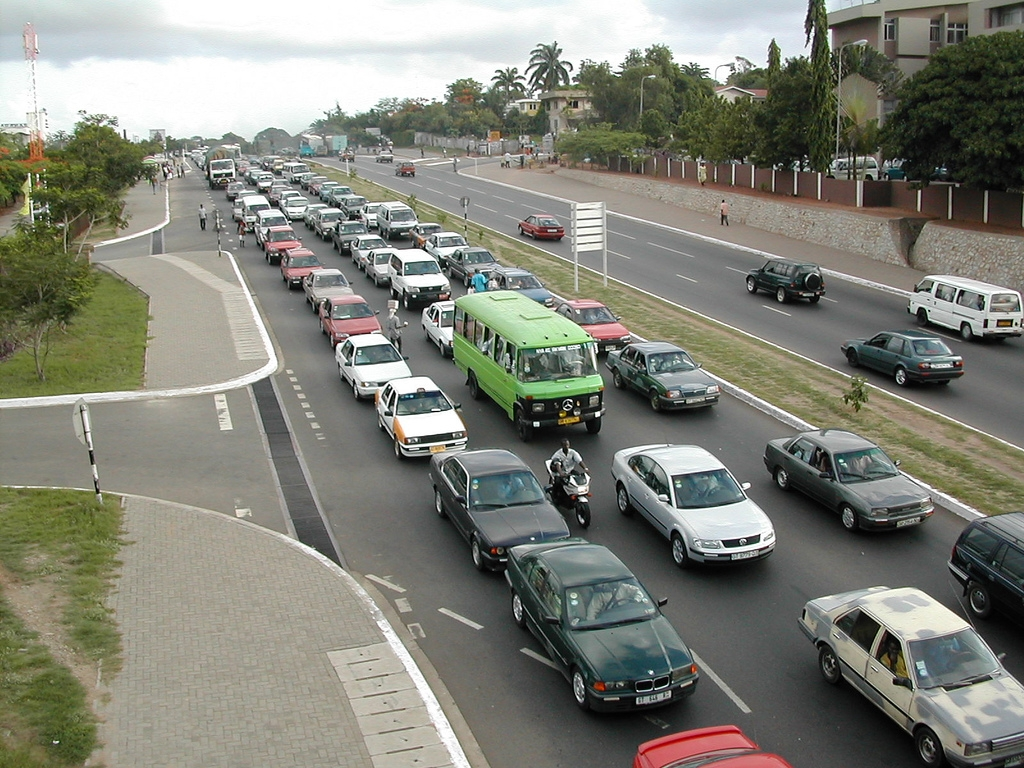 7 worst traffic areas in Accra that we just can't escape