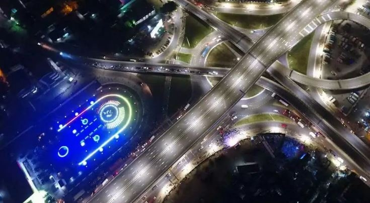 Here are some few pictures of Kwame Nkrumah Circle that proves that Ghana can be like Dubai