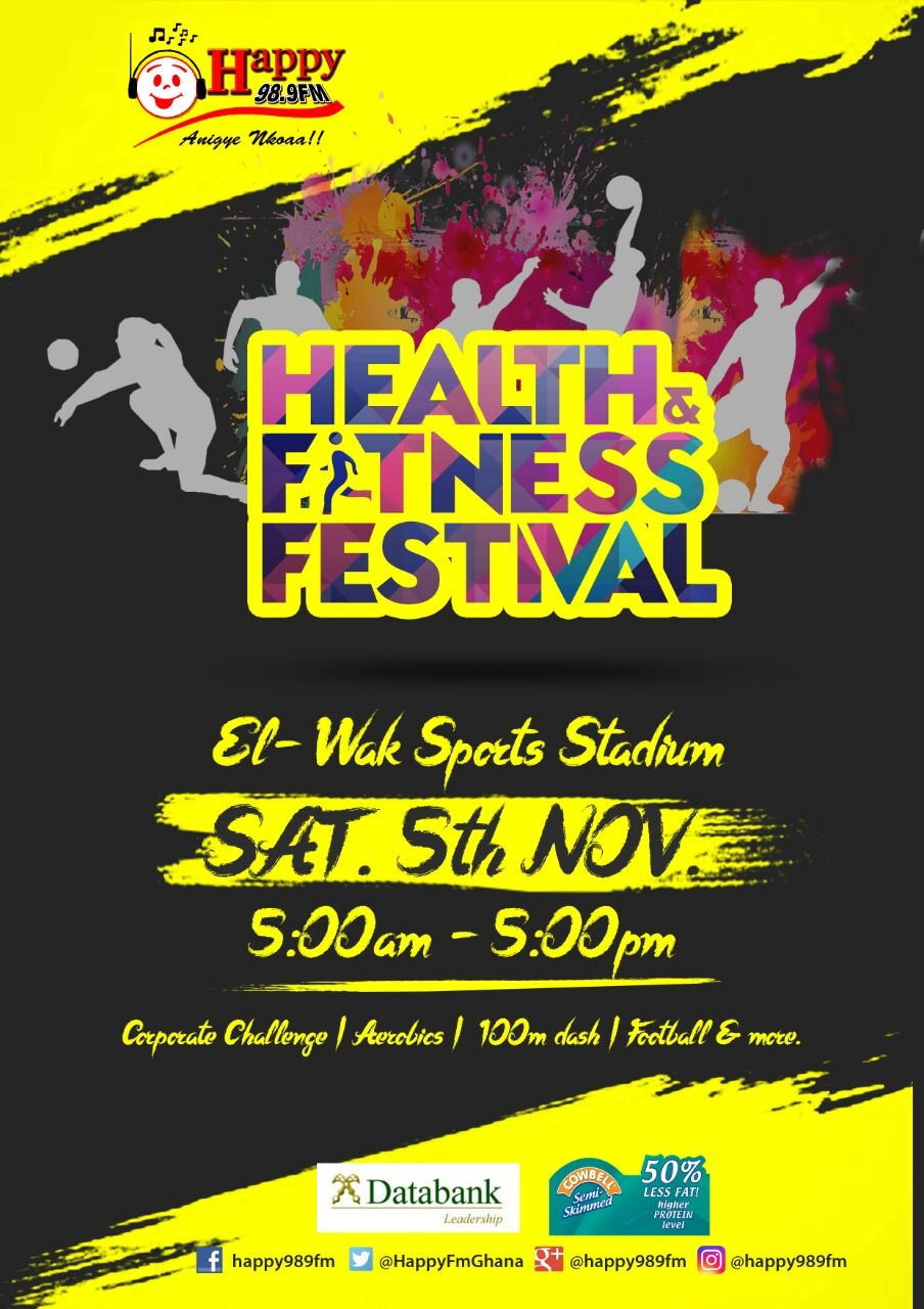 All Set For 2016 Happy Fm Health And Fitness Festival