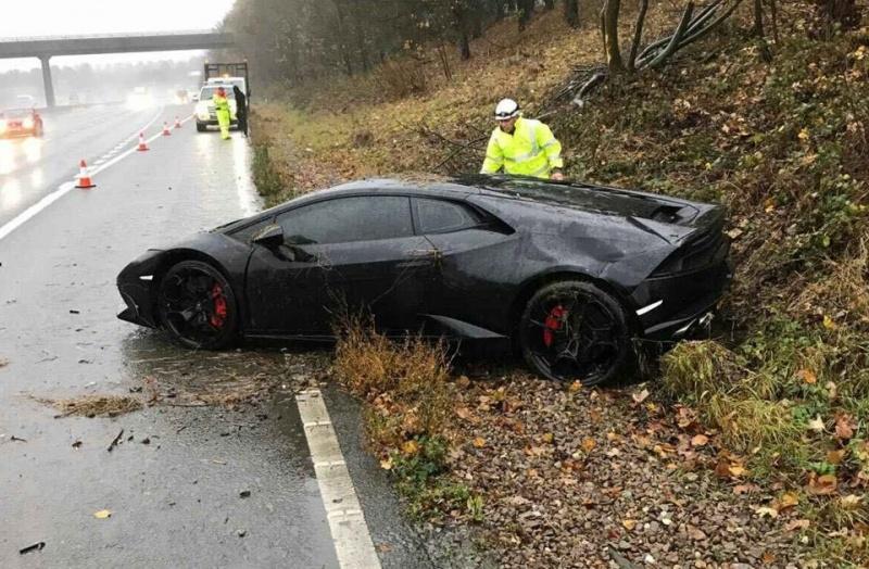 Jeffrey Schlupp crashes £190,000 Lamborghini