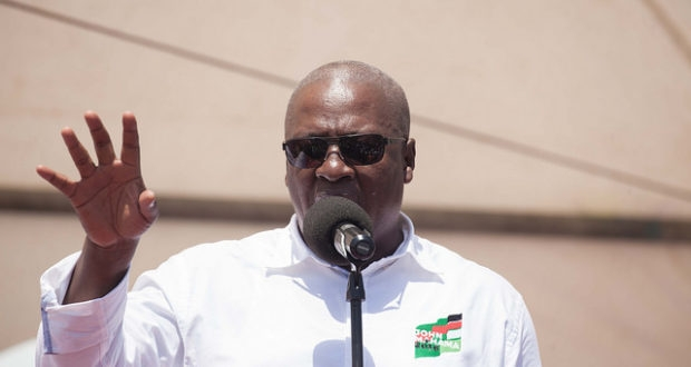 Wild promises intended to destroy Ghana's destiny - Mahama
