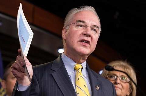 Trump to name Georgia lawmaker Tom Price as health secretary