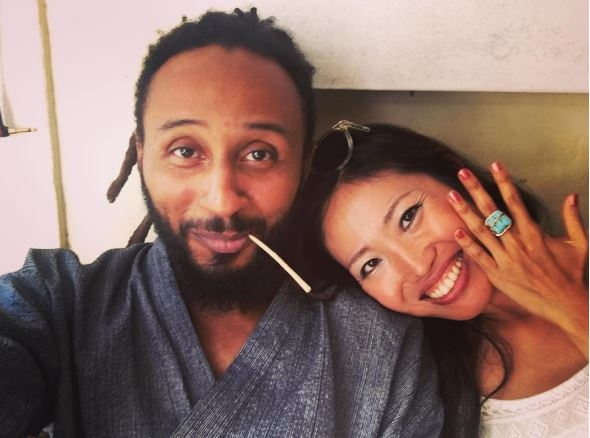 Meet Wanlov's Japanese baby mama and son