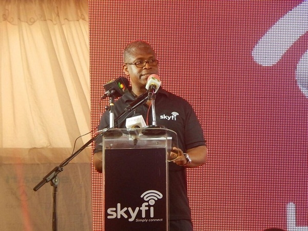E-Connecta launches SkyFi internet service in Ghana