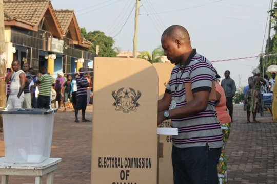 Ghanaians head to polls to elect next president today