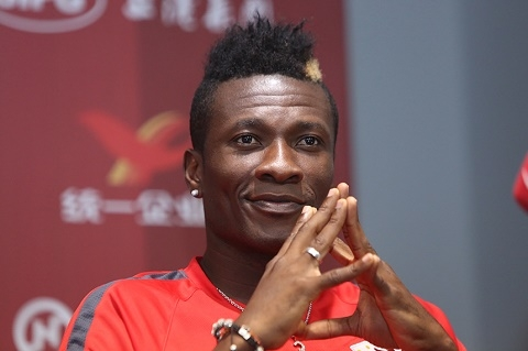 Gyan tells Ghanaians to equally mock Tevez's China move