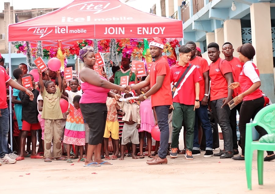 itel Ghana Donates to King Jesus Charity Home Ahead of Christmas