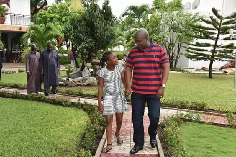 My daddy did his best - Mahama's daughter