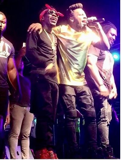 Samini thanks Shatta Wale for attending Saminifest 2016