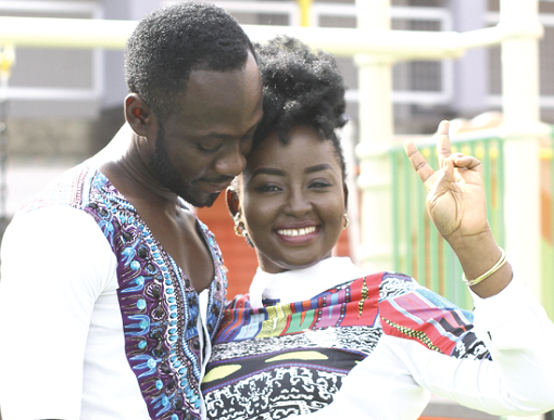 My husband loves big bums - Okyeame Kwame's wife